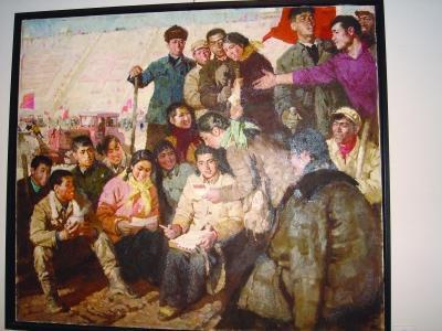 杨红太油画写生步骤